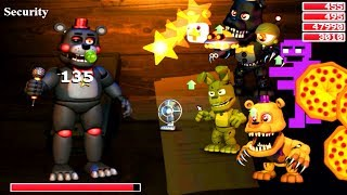 Five Nights at Freddy s World NEW Final Boss The Lefty FNAF 6 Mod