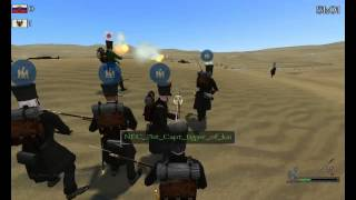mount and blade warband napoleonic wars line battle w the 71st 4