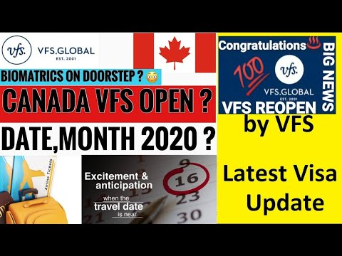 GOOD NEWS VFS INDIA REOPEN THIS DAY'S | AUSTRALIA |    CANADA | LONDON | EUROPE | EMBASSY WILL OPEN😀