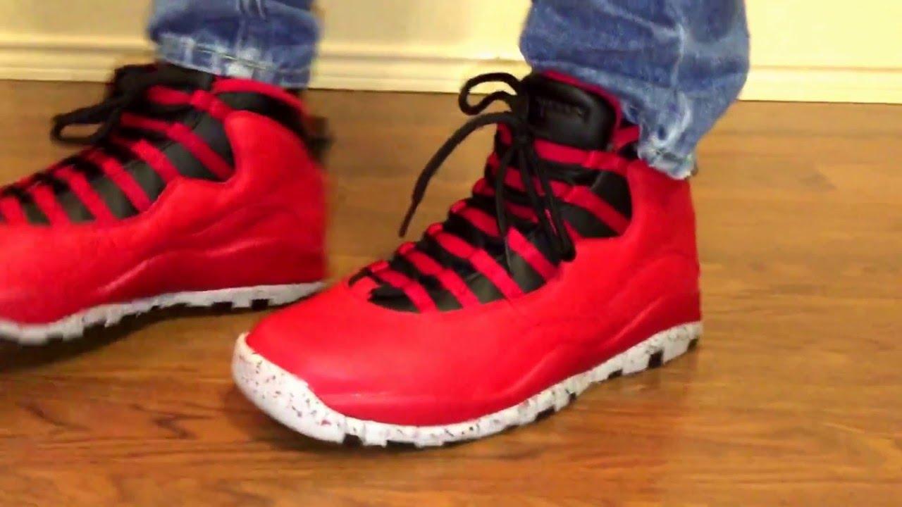 a488106e95bc97 Jordan retro 10 Bulls Over Broadway! - YouTube