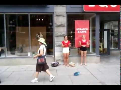 Canada Day 2014 Byward Market Opera Style Singing in Ottawa