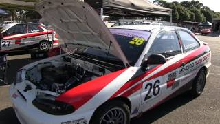 In Pit Lane Australian Hyundai Excel Racing