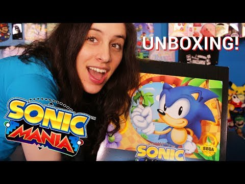 Unboxing Sonic Mania Collector's Edition & it's WAY Past Cool~!