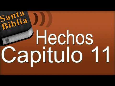 Hechos Capitulo 11 Biblia Hablada Youtube