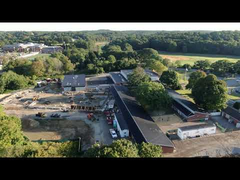 Manchester Memorial Elementary School Project (WT Rich Drone Footage - 9/9/19)
