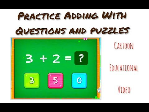 Basic Math For Kids: Addition and Subtraction, Science games, Preschool and adding Activities