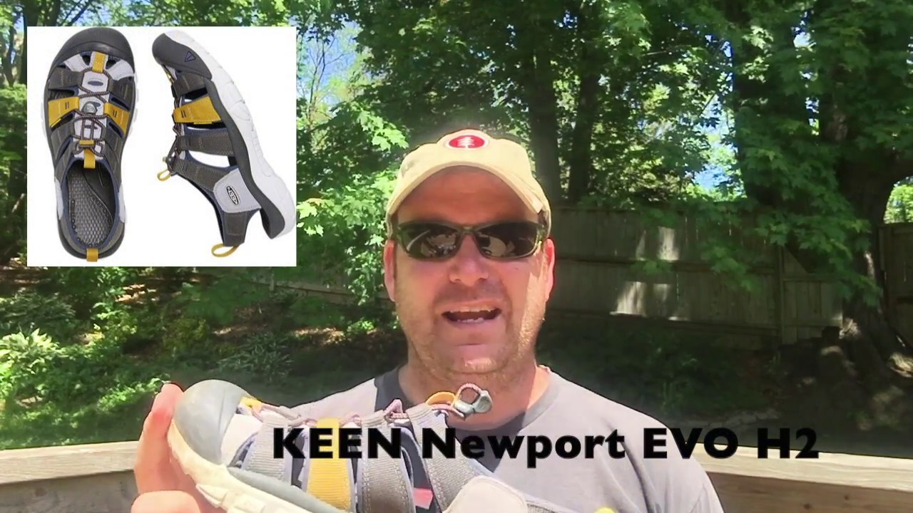 22e07435e3e4 KEEN Newport EVO H2 Sandals tested + reviewed - YouTube