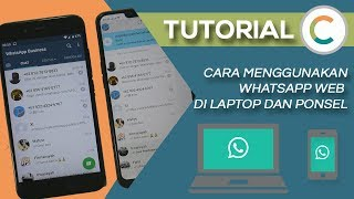 Cara Menggunakan WhatsApp Web di Ponsel