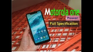 Motorola One Power hand on with full specification