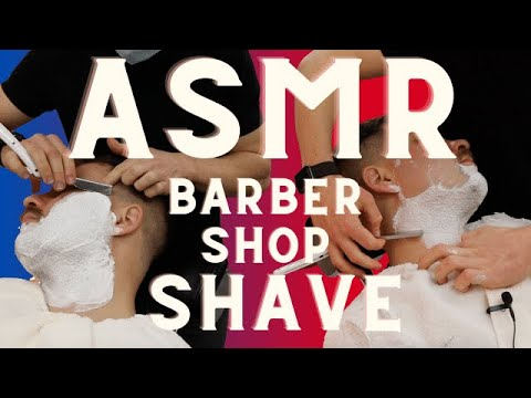 👁👄👁 Relax & Zone Out 🧘🏼♂️ ASMR Cut Throat Shave In London 💈 Barbershop