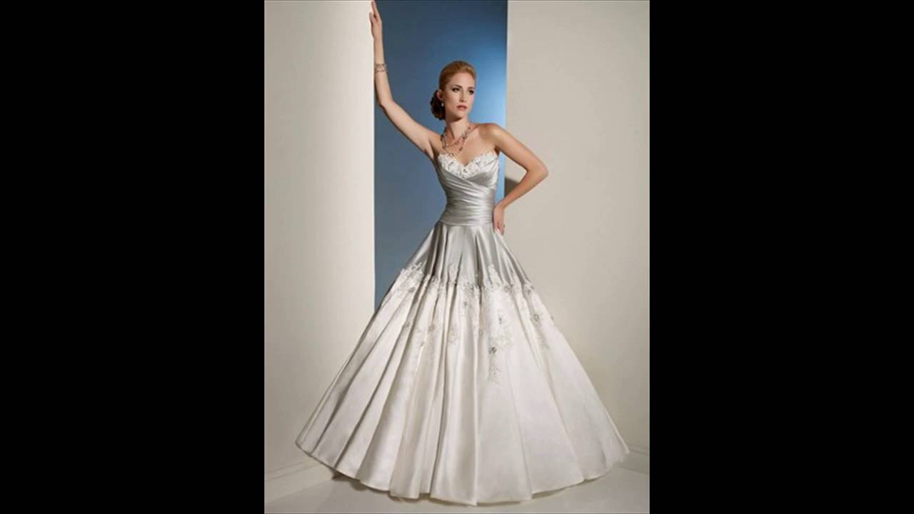 The World\'s Most Fabulous, Most Affordable Wedding Gowns - YouTube