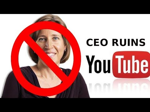 Response to YouTube CEO Susan Wojcicki on  Starting her own Channel