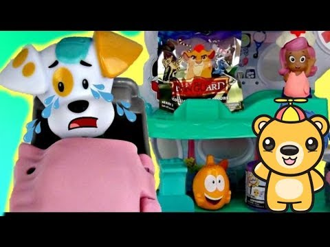 Bubble Guppies Puppy Goes to Hospital Playset with Nurse Molly, Gil, Mr. Grouper