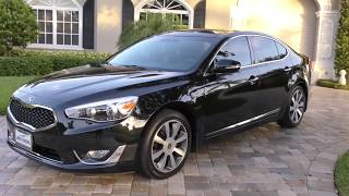 2014 Kia Cadenza Premium Review and Test Drive by Bill - Auto Europa Naples