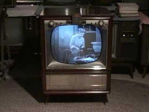 Watch the Honeymooners on a 1957 Zenith TV part 2 of 3