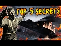 Top 5 FORGOTTEN SECRETS in NACHT DER UNTOTEN! Nazi Zombies Easter Eggs You Didn't Know (COD Zombies)