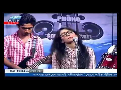 amar bondhu doyamoy Bangla folk Song Live performance 2016 by Turin Bangladeshi Idol   YouTube