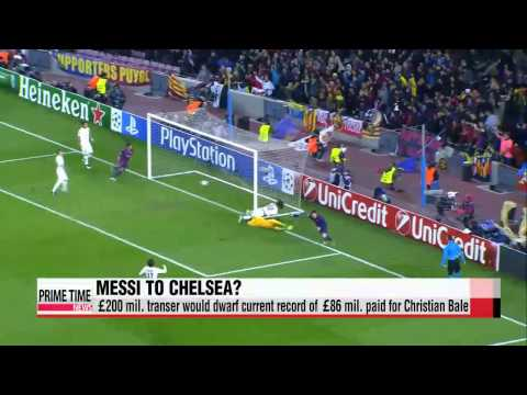 Chelsea wants Messi, willing to pay 200 million pound buyout   해외 축구: 메시, 2억5천만