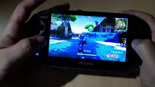 Fortnite | PS Vita Gameplay | Remote Play PS4 Pro
