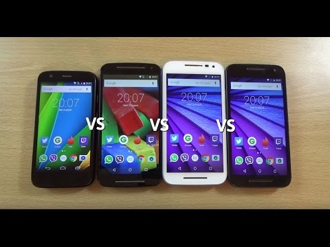Moto G 3rd Gen VS 2nd Gen VS 1st Gen - Speed Test!