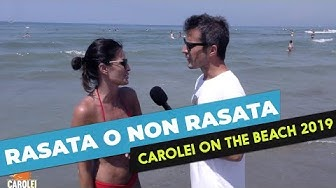 Rasata o non rasata? Carolei On The Beach 2019