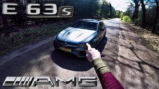 Mercedes AMG E63 S 2017 REVIEW POV Test Drive + AUTOBAHN by AutoTopNL
