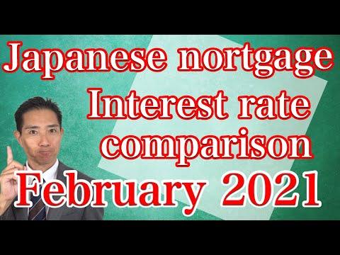 February 2021 Mortgage Interest Rate Comparison