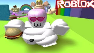 Roblox | Hot obese Boy being witty girl | Fast Food Simulator | MinhMaMa