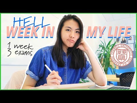 College Week in my Life at Cornell University 2019 (Freshman Year VLOG) | Katie Tracy