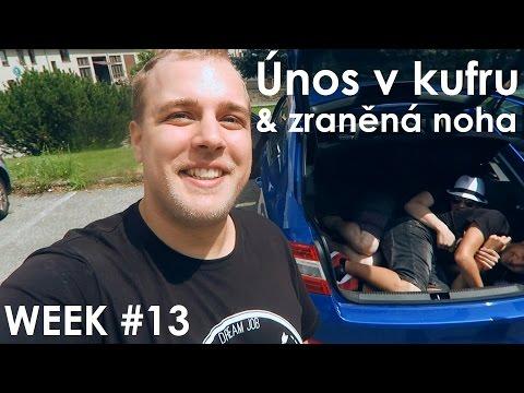 Únos v kufru & zraněná noha - WEEK #13
