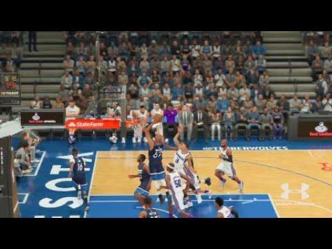 NBA 2K18 Alley oop Pass