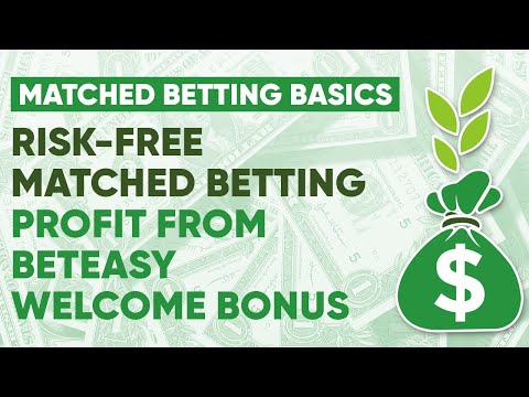 Risk-Free Matched Betting Profit From BetEasy Welcome Bonus