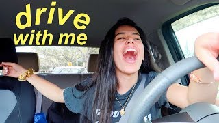 DRIVE WITH ME + my current playlist 2018 | Ava Jules
