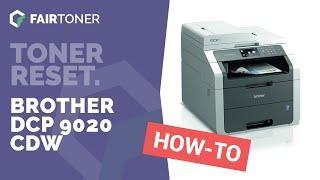 Brother Erro Toner Zerar  MFC 9330 DCP 9020 Video in MP4,HD