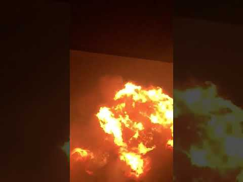Explosion at Atomic Junction Accra Ghana