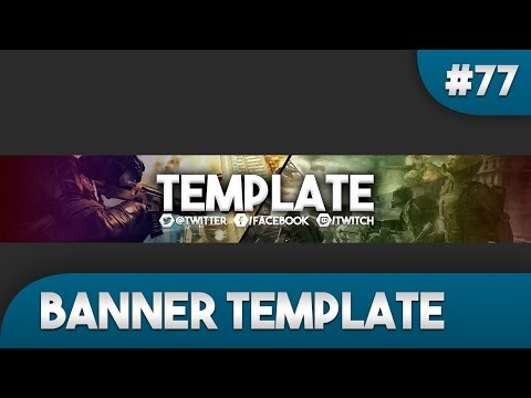 Gaming Youtube Banner Template 77 Free Photoshop Download