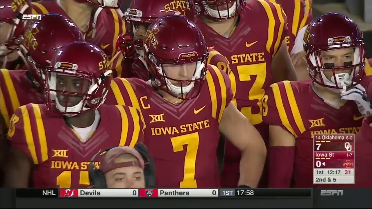 2016 Game 09 - Oklahoma at Iowa State (HD) - YouTube