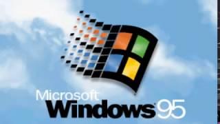 Звуки запуска старых Windows