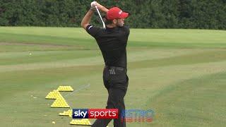 Just Gareth Bale playing golf