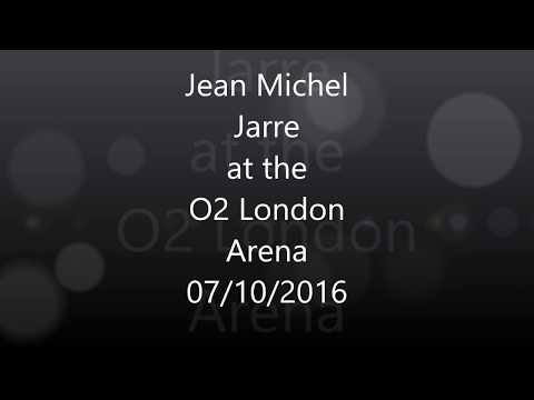 Jean Michel Jarre @ the O2 Arena,  Electronica Tour 7/10/2016, full concert !!