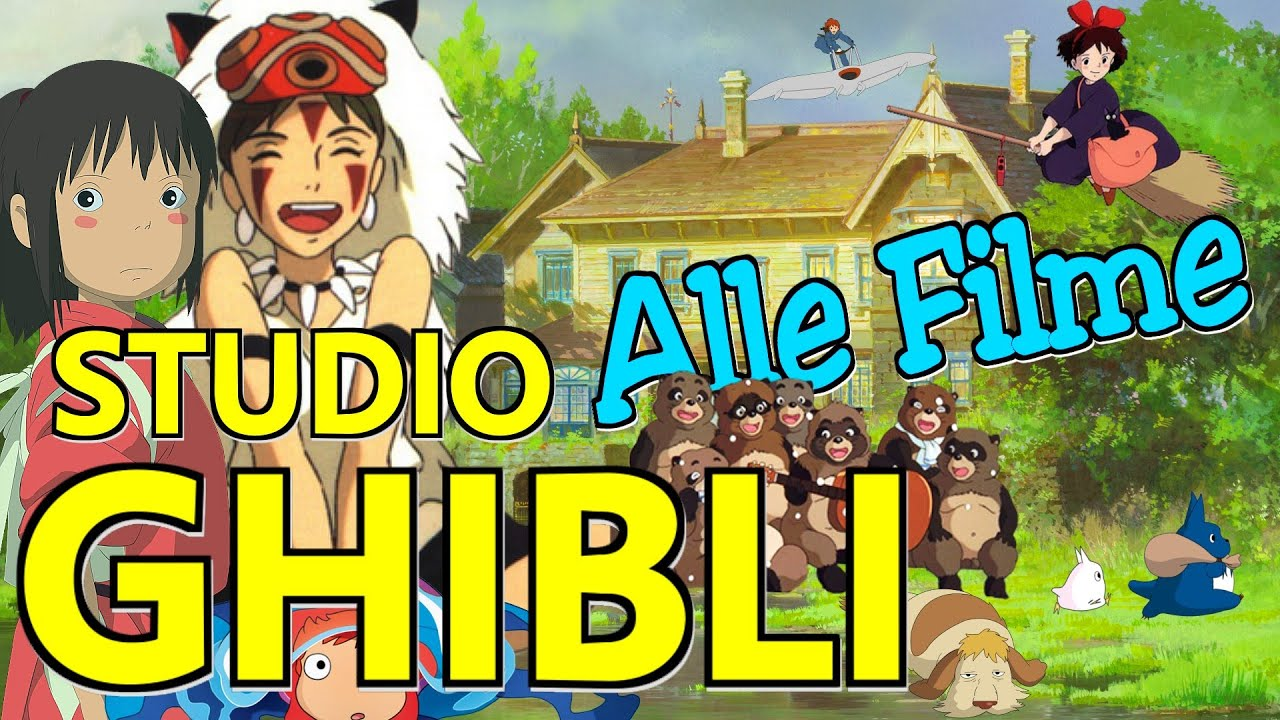 Ghibli Studio Filme