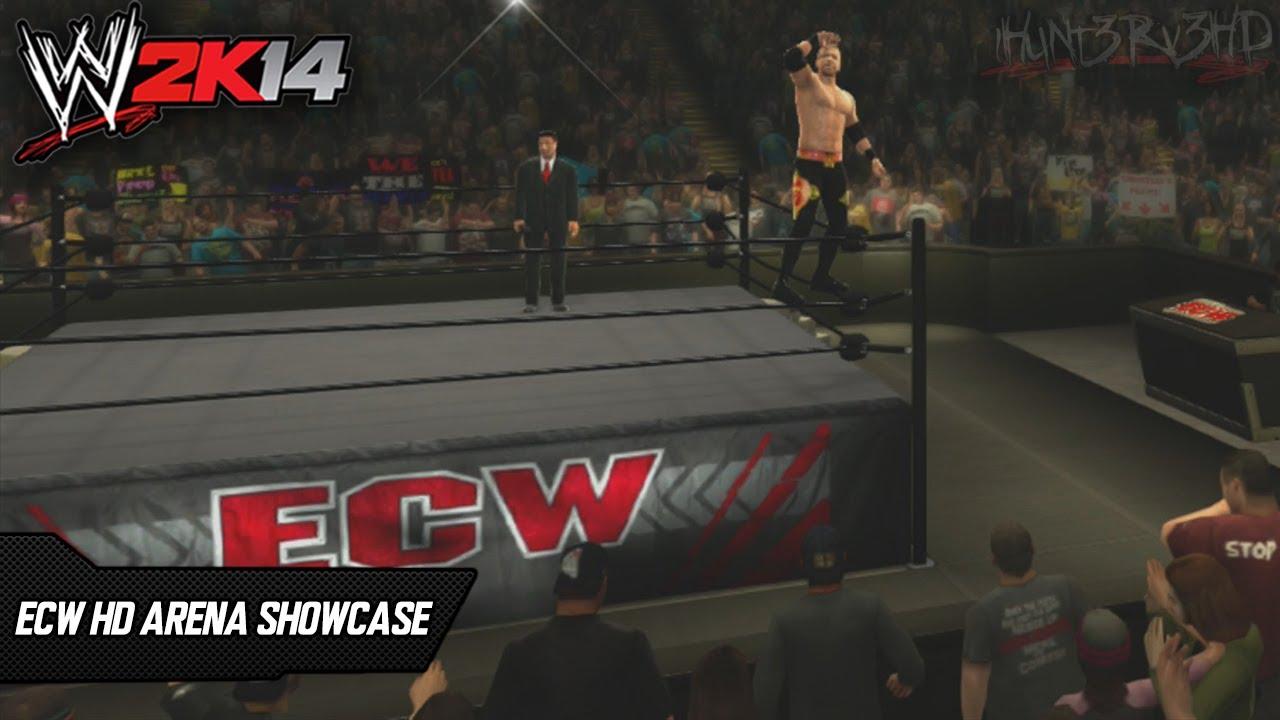 Wwe Ecw Hd 08 10 Arena Showcase Create An Arena Wwe