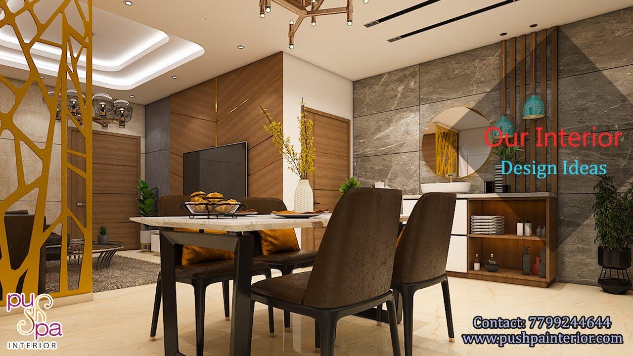 Latest Luxury and Elegant villa | Interior designed by Pushpa Interiors