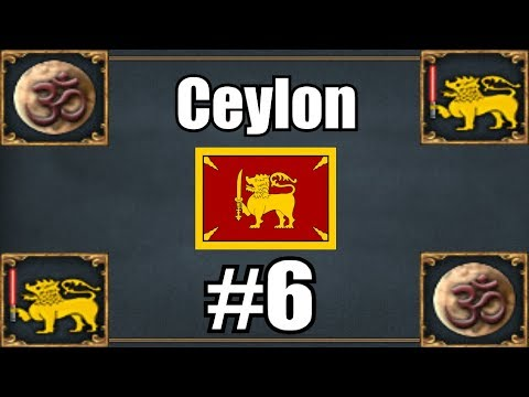 [EU4] Ceylon Campaign #6 - I'm a Great Power!