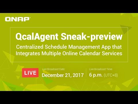 QcalAgent Sneak-preview - Centralized Schedule Management App