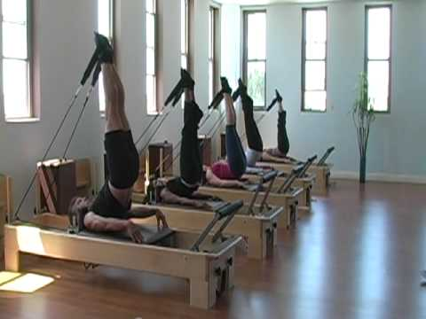 Viva Pilates Studio Reformer Exercises Youtube