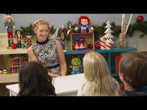 Beth Behrs Talks to Kids