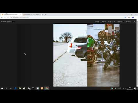 Garage Information  Using Html ,bootstrap, Php,mysql