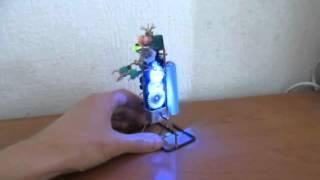 Самодельный робот: Robot Walking Man ver.2