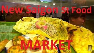 Vietnamese Street Food Market Saigon Ho Chi Minh City Vietnam